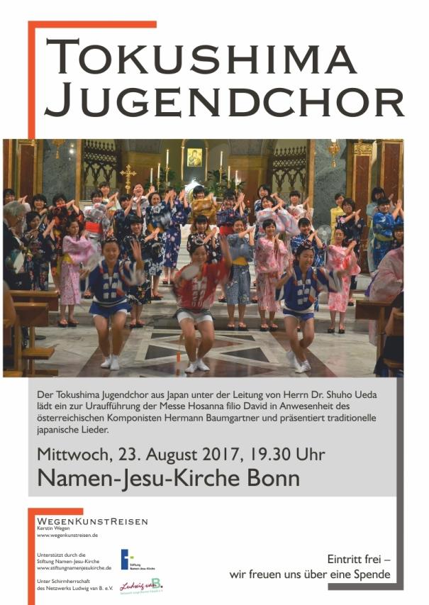 Plakat Tokushima Chor Bonn