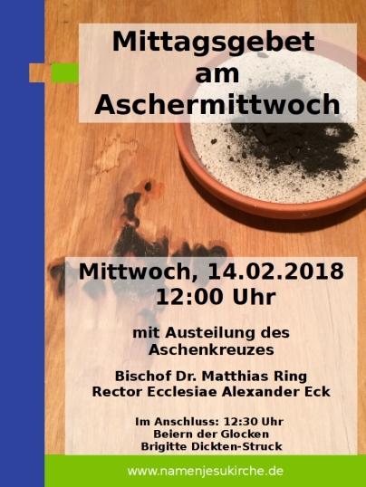 Aschermittwoch 2018