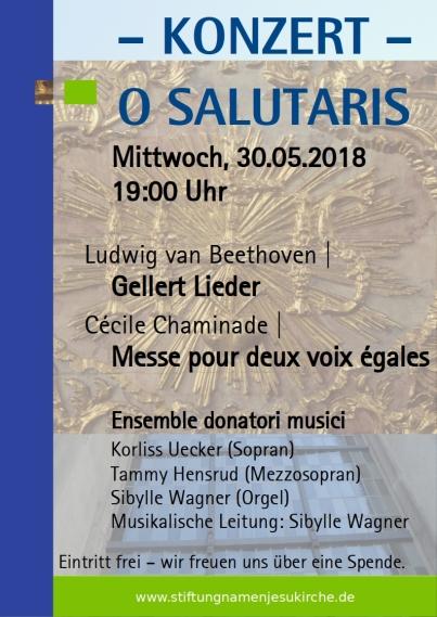 O-Salutaris-Konzert